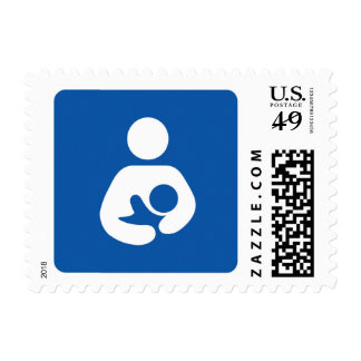 Breastfeeding Logo Postage Stamp