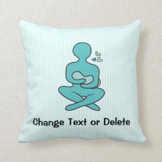 Breastfeeding Mother & Baby Throw Pillow