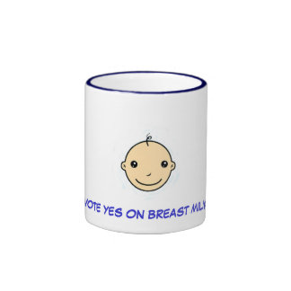 Breastfeeding mug (Vote yes on breast milk)