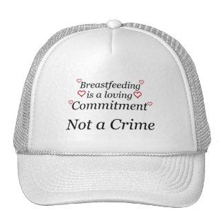 Breastfeeding Not a Crime Trucker Hat