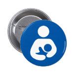 Breastfeeding / Nursing Icon 2 Inch Round Button