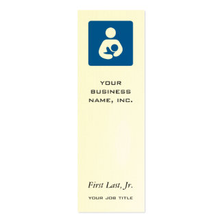 Breastfeeding / Nursing Icon Double-Sided Mini Business Cards (Pack Of 20)