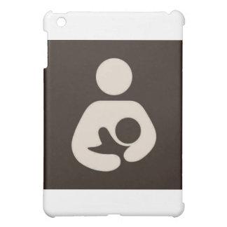 Breastfeeding / Nursing Symbol Brown iPad Mini Cases