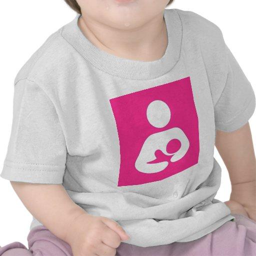 breastfeeding / Nursing Symbol Strawberry Tshirt