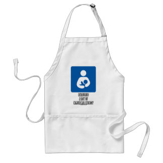 (Breastfeeding) Requires A Lot Of Maternal Energy Adult Apron