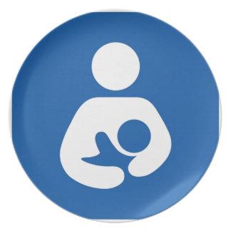 Breastfeeding Support Dinner Plate
