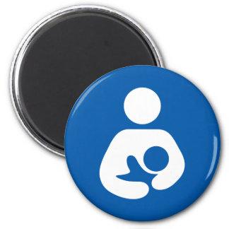 Breastfeeding Symbol 2 Inch Round Magnet