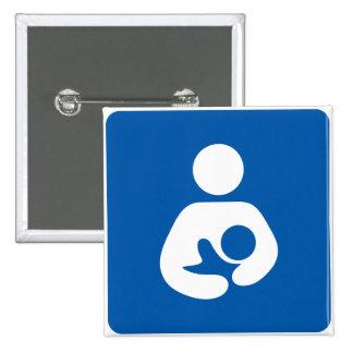 Breastfeeding Symbol Pin