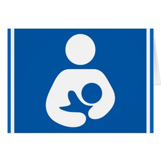 Breastfeeding Symbol Card