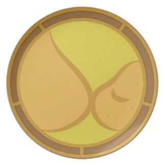 Breastfeeding Symbol Dinner Plate
