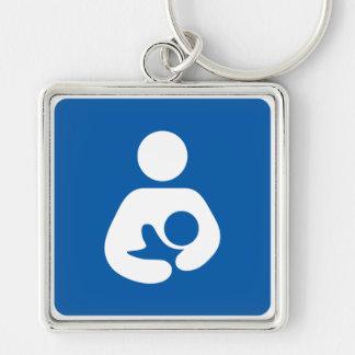 Breastfeeding Symbol Keychain