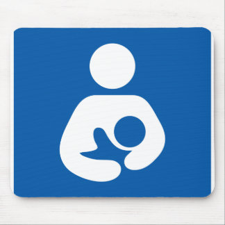 Breastfeeding Symbol Mouse Pads