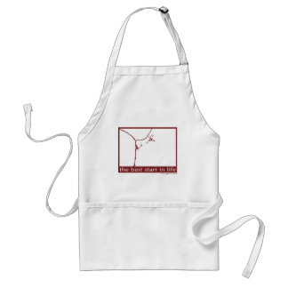 Breastfeeding - the best start in life adult apron