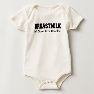 BREASTMILK ITS NEVER BEEN RECALLED BABY BODYSUIT