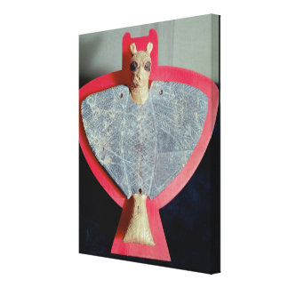 Breastplate in the form of a lion-headed eagle canvas print