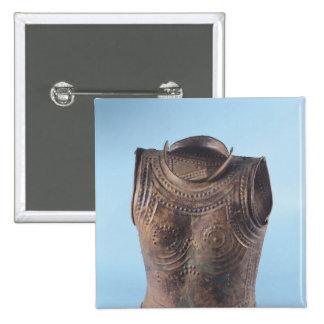 Breastplate Pinback Button