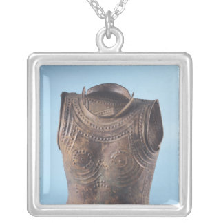 Breastplate Silver Plated Necklace