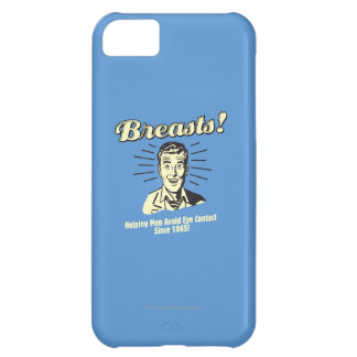 Breasts: Helping Avoid Eye Contact iPhone 5C Case