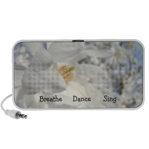 Breath Dance Sing Doodle Portable Speakers