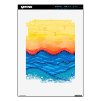 Breath Decal For iPad 3