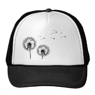 Breath flower trucker hat