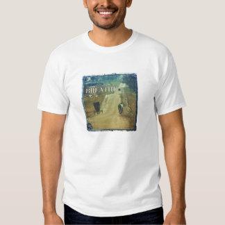 Breath, Kalona Iowa Amish Buggies and Bicycles T-shirt