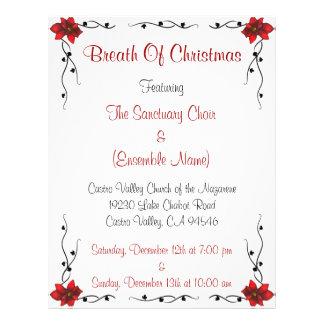Breath Of Christmas Flyer