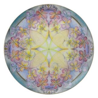 Breath of Life Mandala Art Plate
