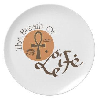 Breath of Life Melamine Plate