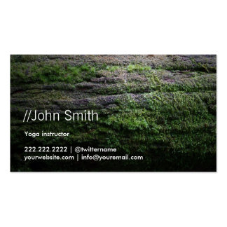Breath of Nature Yoga instructor Business Card
