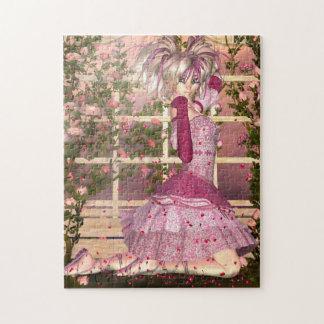 Breath of Rose Fantasy Art Jigsaw Puzzle