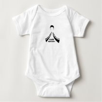 Breath Strong Live Long Lung Cancer Awareness Baby Bodysuit