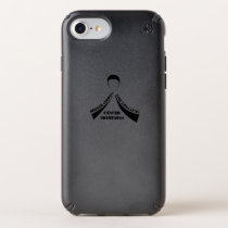 Breath Strong Live Long Lung Cancer Awareness Speck iPhone Case