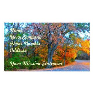 Breath-taking Autumn Day Getaway! Business Card