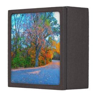 Breath-taking Autumn Day Getaway! Keepsake Box