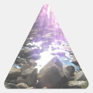 Breath-taking Inspiration Triangle Sticker