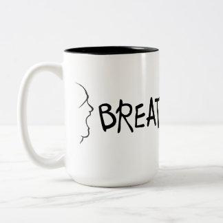 Breath War Two-Tone Coffee Mug