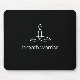 Breath Warrior - White Regular style Mouse Pad