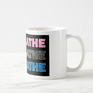 Breathe 001 classic white coffee mug