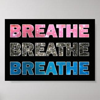 Breathe 004 poster