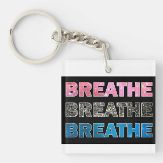 Breathe 07 keychain