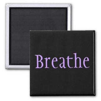 Breathe 2 Inch Square Magnet