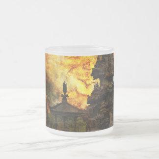 Breathe Again Bali Frosted Glass Coffee Mug