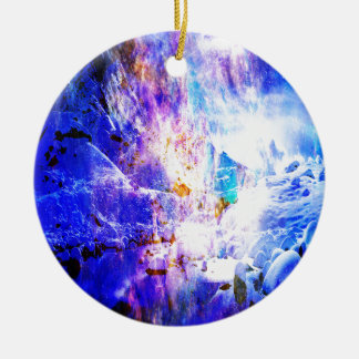 Breathe Again Yule Night Dreams Ceramic Ornament