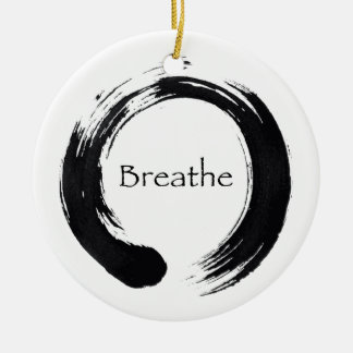 Breathe & Balance Enso Ornament