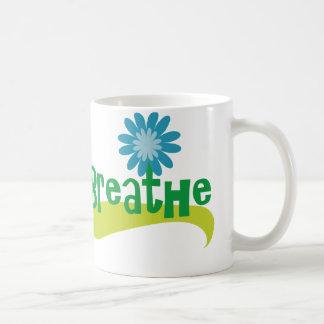 Breathe Classic White Coffee Mug
