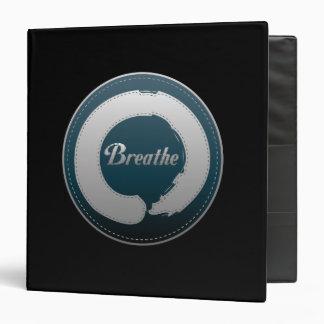 Breathe Enso Stitch Vinyl Binder