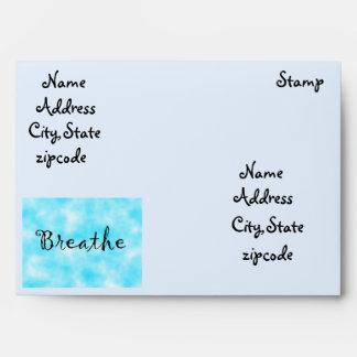 Breathe-envelope Envelope