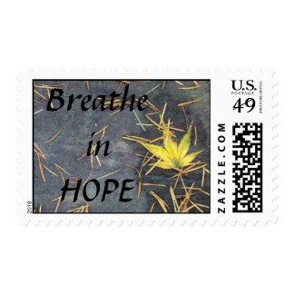 Breathe Hope Postage