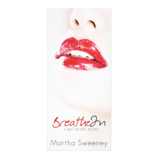 """Breathe In Bookmark 4"""" by 9"""" Rack Card"""